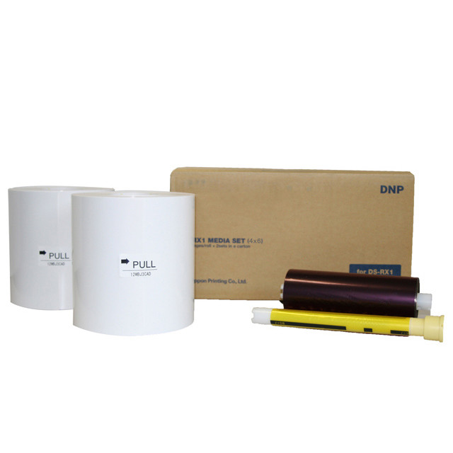 Papel para Impressora Fotográfica DNP RX1 (D10) - 10x15